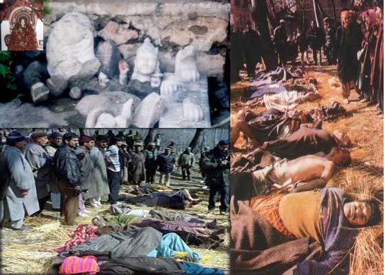 Image result for kashmiri pandits genocide